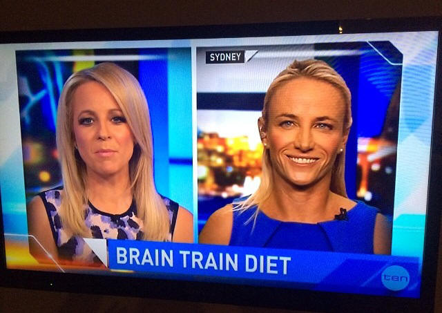 Kristen Beck Nutritionist Television news interview - The Project - Sydney Australia