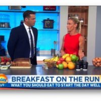 Television - Kristen Beck Nutritionist - Healthy New Year Swaps