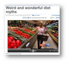 Kristen Beck Nutritionist - Television Media - A Current Affair