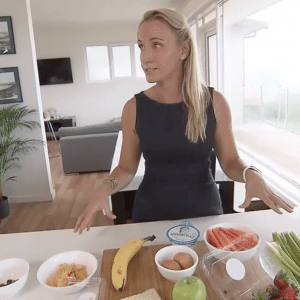 Media Nutritionist Kristen Beck Television Segments Sydney