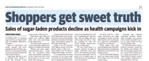 Nutritionist Kristen Beck Comments - The Daily Telegraph Media