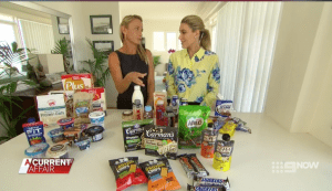Media & TV Nutritionist Kristen Beck - A Current Affair - Protein Segment